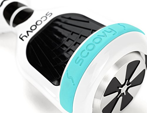 Protective Scoovy Teal Replacement Bumper for Hoverboard / 2 Wheel Self Balancing Scooter - One Pair