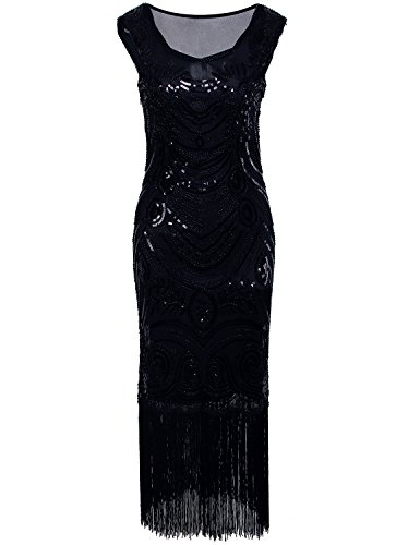 long black fitted prom dresses - 4
