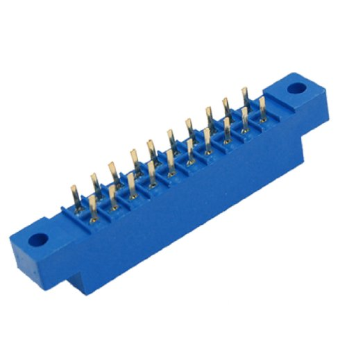 5 Pcs 805 Series 3.96mm Pitch 20P 10Px2 PCB Card Edge Connectors (Wire 0.156')