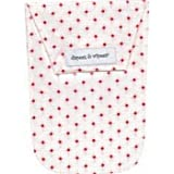 Diapees and Wipees Waterproof Hoppy Dots Pink Baby Diaper and Wipes Bag, Health Care Stuffs