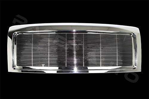 09 Chrome Grille Shell - Razer Auto Triple Chrome Plated Billet Grille Complete Factory Replacement Grille Shell for 09-14 Ford F150