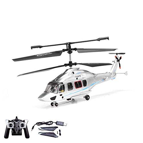 3.5 Kanal RC ferngesteuerter Hubschrauber mit neuester Gyro-Technik, Helikopter Spielzeug Modell, RTF