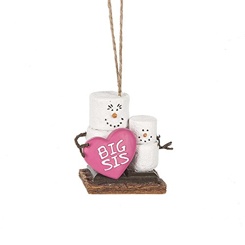 2017 S'mores Original Big Sister Ornament