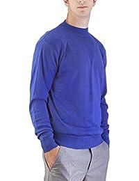 Alberto Cardinali Men's Mock Neck Sweater