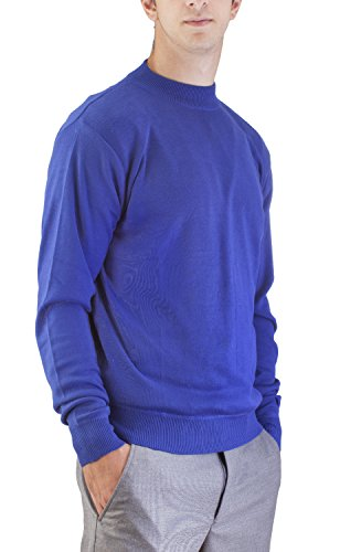 2b0e420416b9c8 Alberto Cardinali Men's Mock Neck Sweater MC5 (3XLarge Royal) - Buy Online  in UAE. | Apparel Products in the UAE - See Prices, Reviews and Free  Delivery in ...