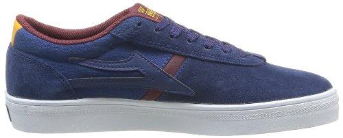 Lakai Vincent - Zapatos de cuero para hombre azul - Bleu (Navy Suede)
