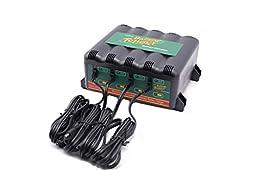 Battery Tender 022-0148-DL-WH 12-Volt 4-Bank Battery Management System