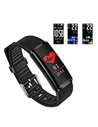 Fitness Tracker Leelbox Smart Band Bracelet Watch Activity Tracker Waterproof Bluetooth Wristband Heart Rate Monitor Pedometer Sleep Monitor Calorie Counter Blood Pressure iPhone Android Smart Phones
