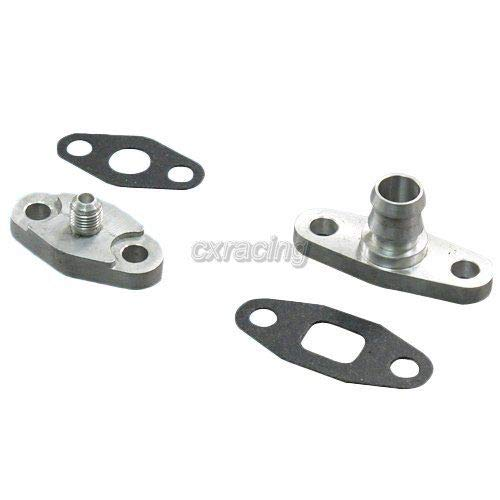 Gasket For T3 T4 T04B T04E T70 T72 4AN OIL FEED DRAIN FLANGE FITTING