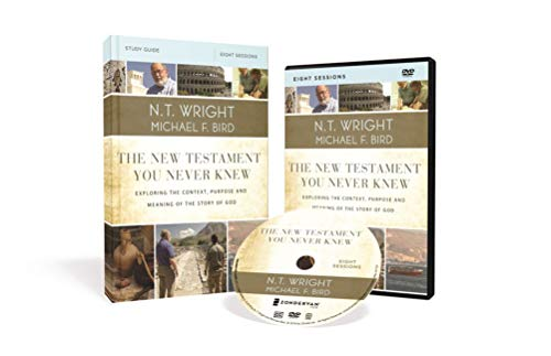 Knew Dvd - The New Testament You Never Knew Study Guide with DVD: Exploring the Context, Purpose, and Meaning of the Story of God