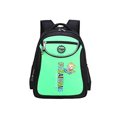 Dunland Mochila BackPack AntiRobo Impermeable Protector de canto niños alumno Laptop 30 Multicolor2 Multicolor10