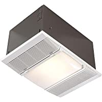 Multi-functioned Nutone 9960 Recessed Ceiling Heater with Light and Night Light- 7.75h X 14w X 9.75d