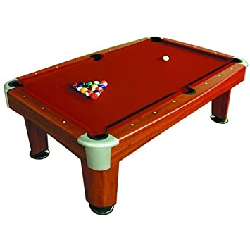 BCE Mens Rosemont American Pool Table Rosewood Inch Amazonco - 7 inch pool table
