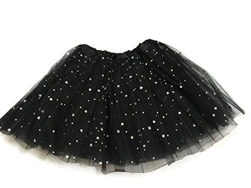 Rush Dance Ballerina Girls Dress-Up Sparkling Stars Sequins Costume Recital Tutu (Kids (2-8 Years Old), (Halloween Costumes Dancing With The Stars)