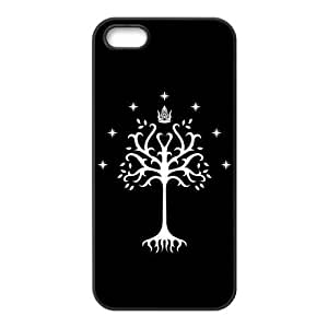 iPhone 5S Protective Case - Tree of Gondor Hardshell Carrying Case Cover for iPhone 5 / 5S