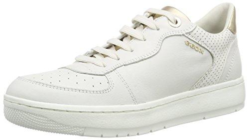 Geox D Nimat D - Zapatillas Mujer Blanco - Weiß (WHITEC1000)