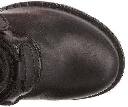 M.TR004-S1 M.TR004-S1, Damen Stiefel mit Keilabsatz Schwarz (itali schwarz)