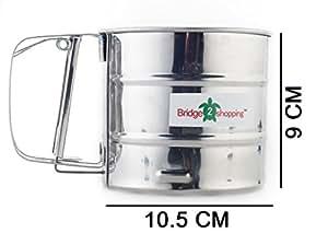 Amazon.com: Flour Shifter Strainer | Flour Sieve | Kitchen