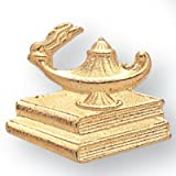Awards and Gifts R Us 3/4 Inch Lamp of Learning Pin - Pack of 20