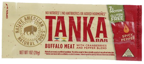 Tanka Bar, Spicy Pepper Blend, 1-Ounce Bars (Pack of 6)