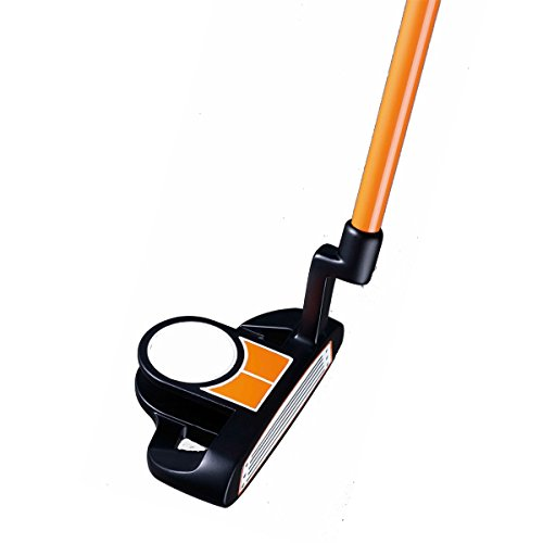 PowerBilt Boys Ages 3-5 Golf Putter, Right Hand, Orange