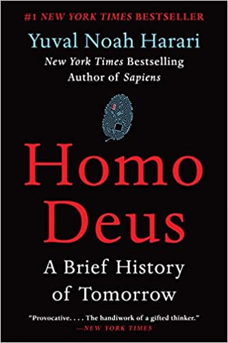 Homo deus a brief history of tomorrow yuval noah harari homo deus a brief history of tomorrow yuval noah harari 9780062464347 amazon books fandeluxe Image collections