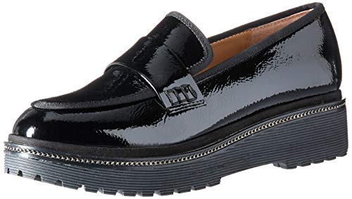 Franco Sarto Women's Shelton Loafer Black 8 M US