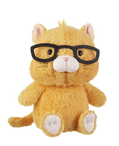 Spectimals 11 Inch Glasses Wearing Plush, Kitty (Stuffed Animals Wearing Glasses)