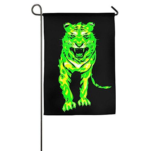 WSXEDC Fair Tiger Home Garden Indoor/Outdoor Flags, Durable Flags, House Flag Wedding Flag For (Tigers Glitter Gear)