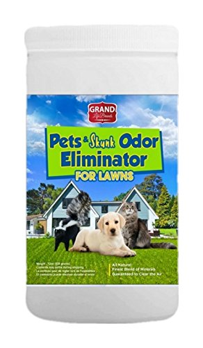 Earth Care Pets and Skunk odor absorber for lawns, patios, decks, landscaping. Safely remove smell of urine, feces, skunks, mold, mildew and enjoy fresh air outdoors in your yard and garden (1)