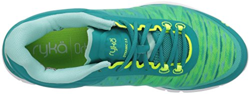 US Teal 5 2 10 Green Women's Black Dynamic Grey Trainer Shoe Ryka Cross M qwPH71a