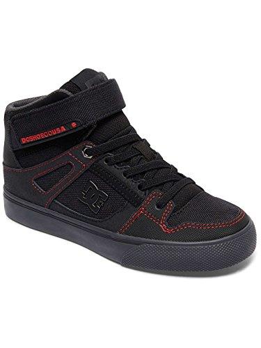 DC Shoes Pure High Se Ev - Zapatillas de Bota Alta Para Chicos ADBS300270 BLACK/RED/GREY