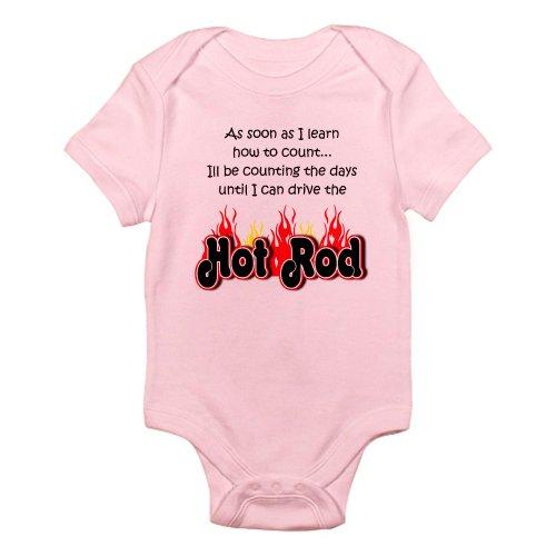 Hot Rod Dragster - CafePress Hot Rod Baby Count Infant Bodysuit Cute Infant Bodysuit Baby Romper