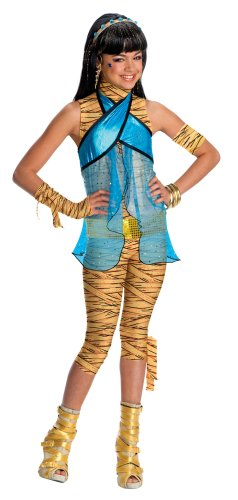Monster High Cleo de Nile Costume - One Color - (Cleo From Monster High Costume)