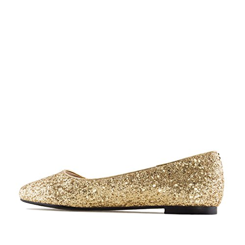 pour 42 Or grandes Femmes 45 Machado am5228 Pointures Andres ballerines AqtHSx0