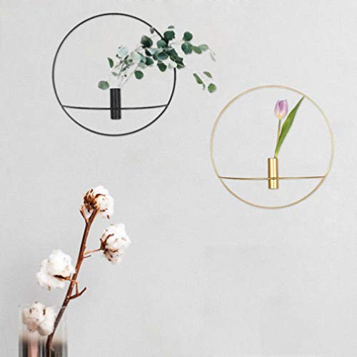 - MUROER Geometric Candlestick Metal Wall Candle Holder Sconce Nordic Style Brief Life Design Home Decor