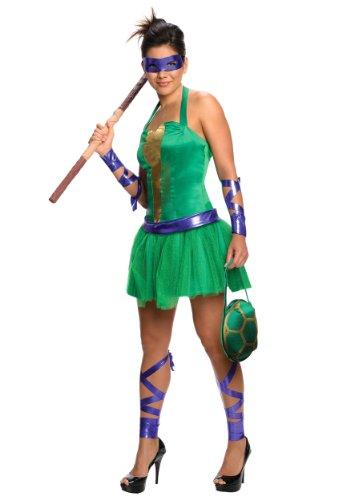 Female Ninja Turtle Ideas Costume (DONATELLO ADULT FEMALE SZ M)