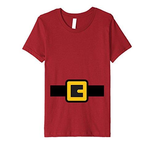 Kids Dwarf Costume Shirt, Halloween Matching Shirts for Group 12 Cranberry -