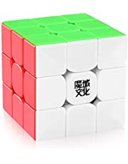D-FantiX Moyu Weilong GTS V2 M Speed Cube 3x3 Stickerless, Weilong GTS2 M Magic Cube Puzzle