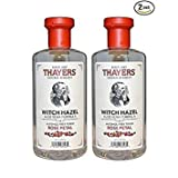 Thayers – Rose Petal Witch Hazel with Aloe Vera Alcohol-Free Toner – 12 oz.(Pack of 2)