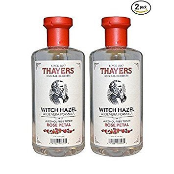 Thayers - Rose Petal Witch Hazel with Aloe Vera Alcohol-Free Toner - 12 oz.(Pack of 2)