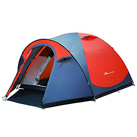 MOON LENCE Outdoor Camping Tent 3 to 4 Person Tent...