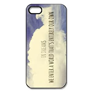 Stylish Hot Custom Harry Potter Quotes Pattern TPU+PC Case Cover for Apple iphone AT&T / Verizon 5 5g 5gs