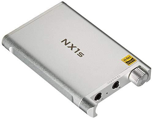Topping NX1s - Amplificador portátil para Auriculares, más pequeño y Mejor, Color Plateado