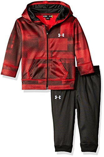 Under Armour Baby' Active Hoodie and Pant Set, Red, 24M