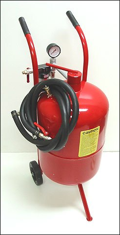 20 Gallon High Pressure Sand Blaster Blastering Abrasive Media Tank by Generic