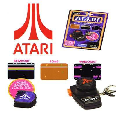 Atari Keychains (Pong/Breakout/Warlords)