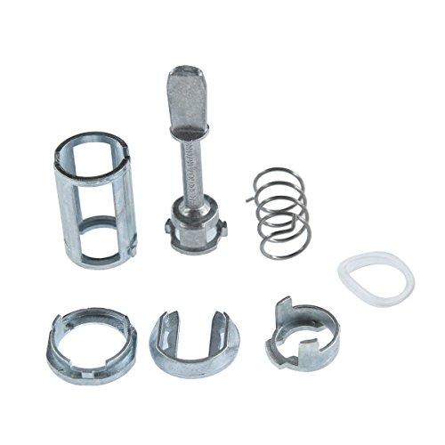 A-Premium Front Door Lock Barrel Repair Kit for Volkswagen Passat 1996-2005 3B0837167 7-PC Set