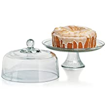 Anchor Hocking 77959 Canton Glass Cake Dome, Clear