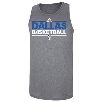 Dallas Mavericks Adidas Gris Pre juego camiseta de tirantes, gris: Amazon.es: Deportes y aire libre